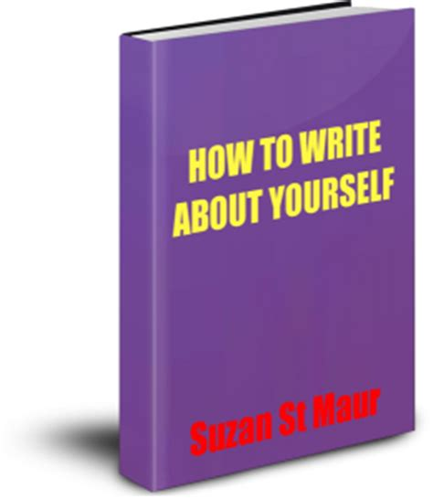 Writing your own personal biography